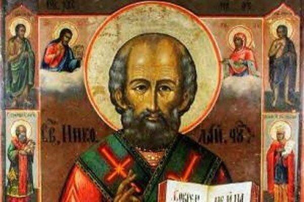 Ruská ikona svätého Mikuláša