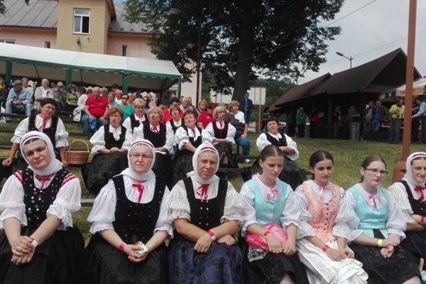 Pohľad do publika počas festivalu.