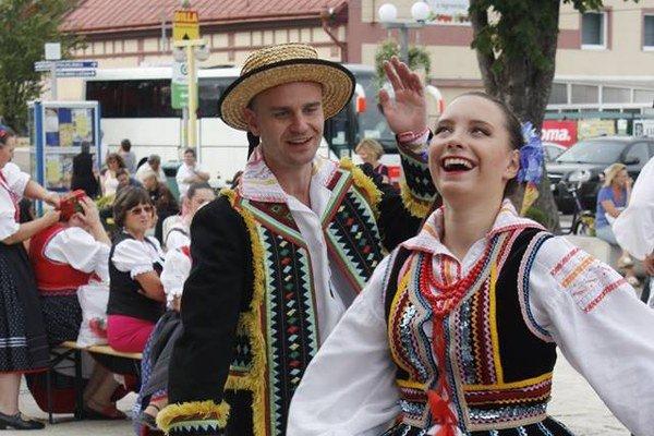 Zvesela. Na Dňoch mesta Vranov nad Topľou nebola núdza o zábavu.