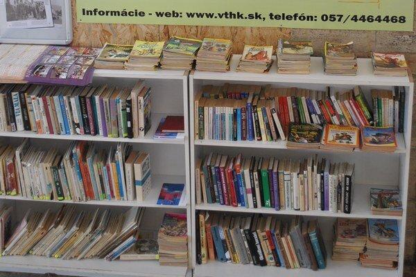 Nová knižnica. Vznikla na železničnej stanici vo Vranove.