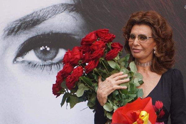 Sophia Lorenová.