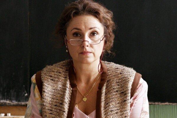 Zuzana Mauréry vo filme Učiteľka.
