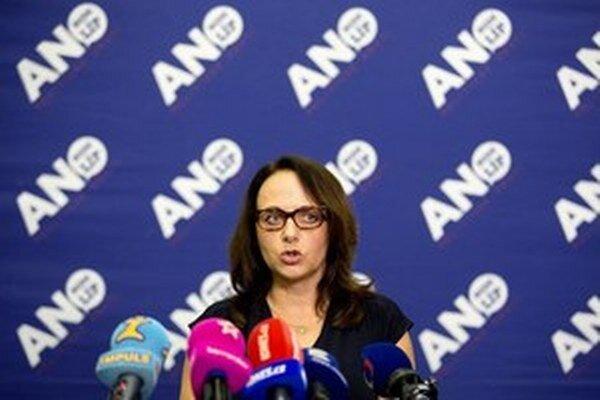 Adriana Krnáčová sa stala primátorkou s podporou ANO.