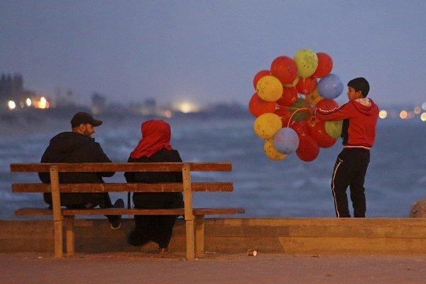 Kiežby život v pásme Gazy vyzeral iba takto.