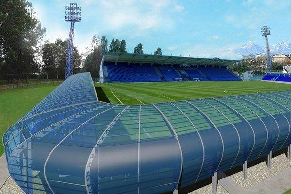 Takto by podľa víťaza súťaže futbalového zväzu malo vyzerať nové tréningové centrum v Poprade.