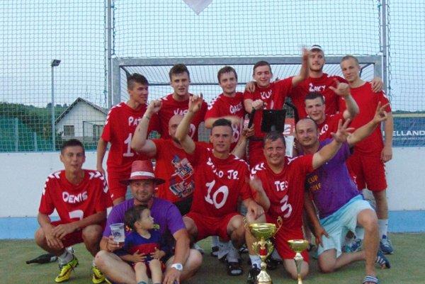 Víťazný tím Smanný Prameň.