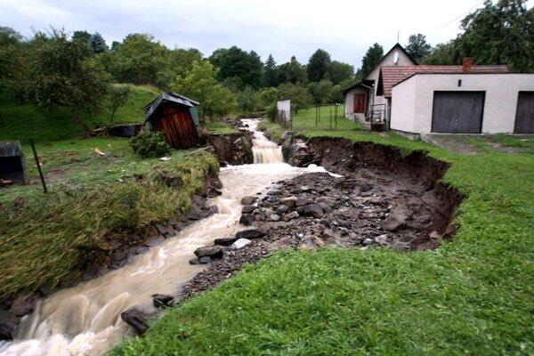 Ničivá povodeň zasiahla región v roku 2010.
