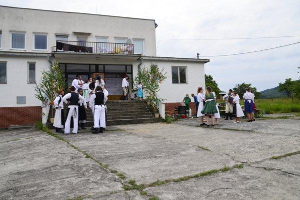 Kultúrny dom v časti Štále je obľúbeným dejiskom podujatí.
