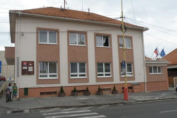 Mestský úrad Bojnice.