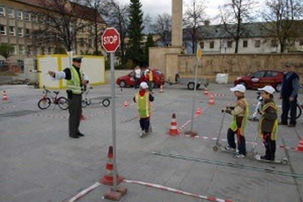 Dopravné ihrisko postavia deťom v centre Prievidze.