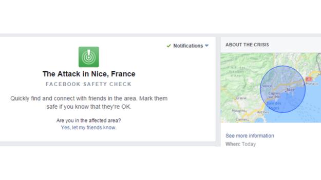 Aktuálne zavedená služba na facebooku.
