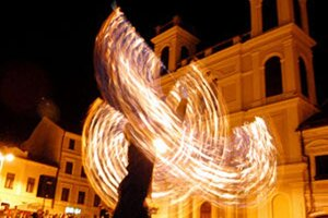 Súčasťou rozlúčky s prázdninami v Kocuranoch bude aj ohňová šou.