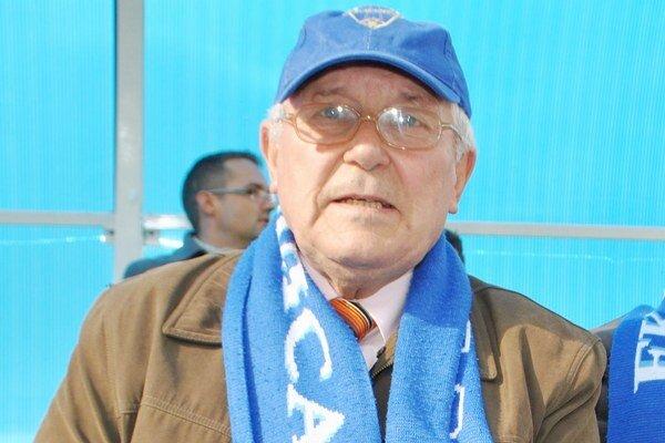 Ján Huba. Futbalový nadšenec oslávil 70 rokov.