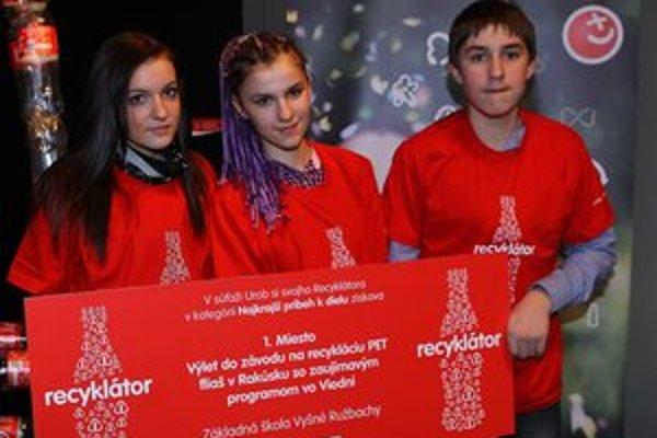 Odmenou výlet. Mladí Ružbašania sa za snahu dostanú do Rakúska.