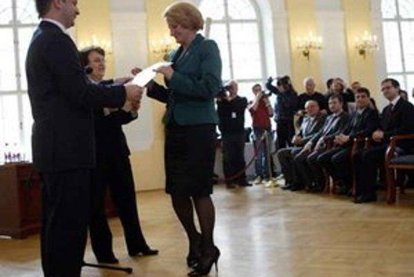 Podpredsedníčka z Plavnice. Janu Laššákovú zvolili do vedenia Národnej rady.