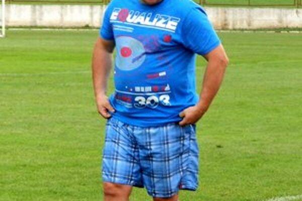 Kouč Karol Kačmarčík. Tréner goralov zažil neľahkú sezónu.