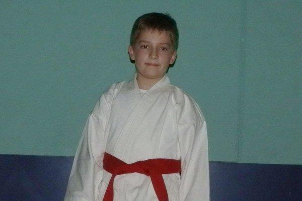 Adam Krafčík začínal s karate už ako 4-ročný.