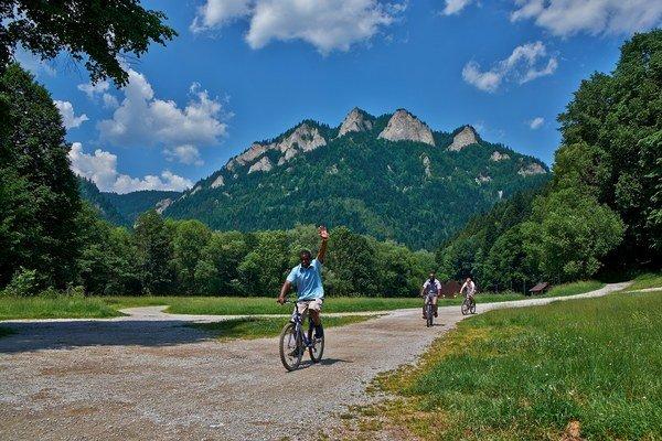 O výlety na bicykli je záujem.