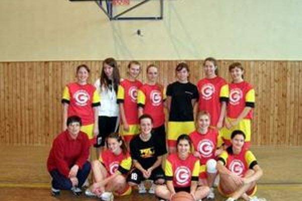 Víťazné družstvo Gymnázia T. Vansovej Stará Ľubovňa.