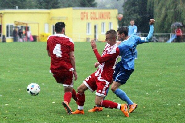Andrej Ivančík takto zvyšoval na 3:0.