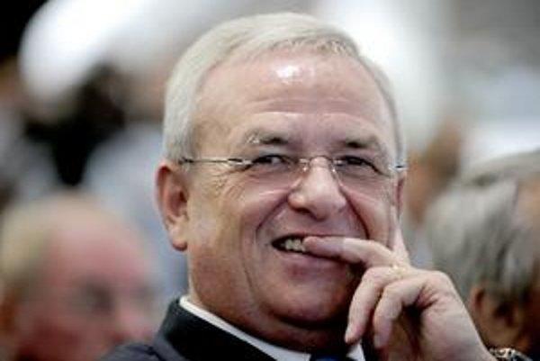 Bývalý šéf nemeckého Volkswagenu Martin Winterkorn.