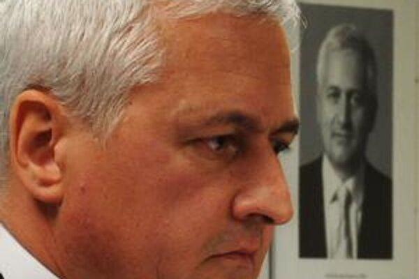 Šéf Úradu pre dohľad nad zdravotnou starostlivosťou Richard Demovič.