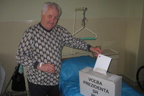 Ivan Čulen z Prievidze mal vo výbere kandidáta jasno.