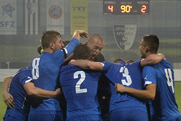 Slovenská reprezentácia do 21 rokov zvládla ďalší kvalifikačný zápas.