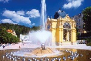 Spievajúca fontána v Mariánskych Lázňach