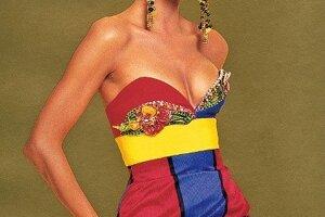 Versace inšpirovaný umením v roku 1990
