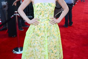 Ellie Kemper na premiére komédie Sex Tape