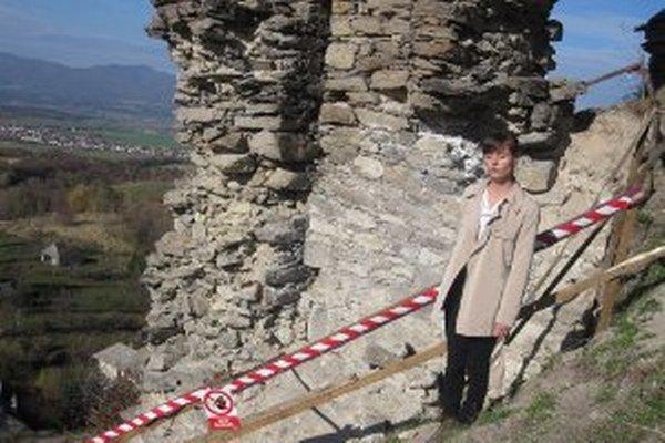 Dominika Haragová na Sivom Kameni viedla archeologický výskum.