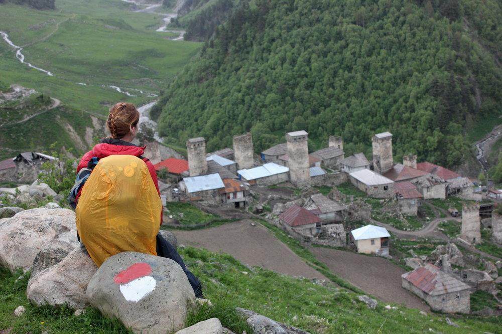 Horské dediny v regióne Svaneti mali často strážne veže proti nepriateľom. Stoja dodnes.