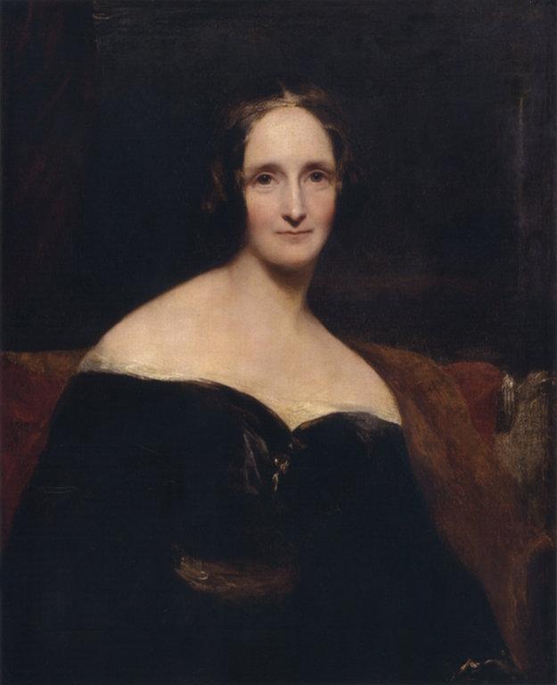 Mladá Mary Shelleyová