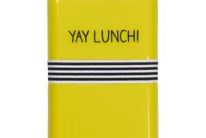 Box na desiatuNajesť sa určite nezabudnete, ale pozor, žltá zvyšuje aj chuť do jedla!
