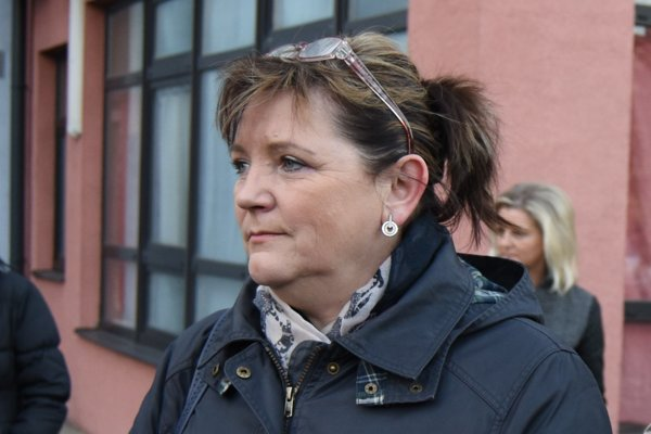 Prezidentka Slovenskej komory sestier a pôrodných asistentiek Iveta Lazorová.