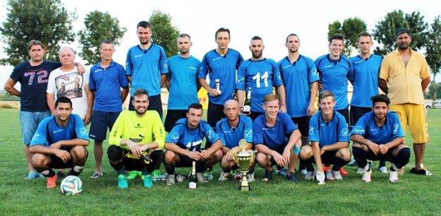 Futbalisti Vinodolu.