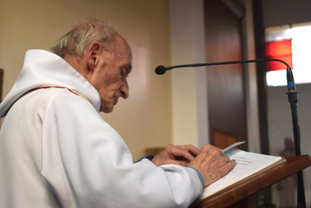 Zavraždený kňaz Jacques Hamel.