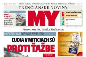 V najnovšom čísle MY Trenčianskych novín nájdete veľa zaujímavých informácií.