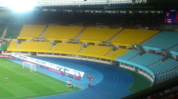 46. minúta a Tambe dostáva gólom fanúšikov hostí do vytŕženia - 0:1.