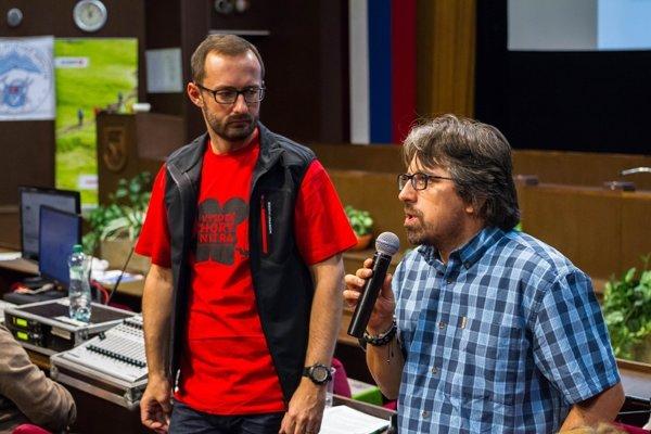 Tomáš Hulík (vpravo), ambasádor značky Nikon na Slovensku