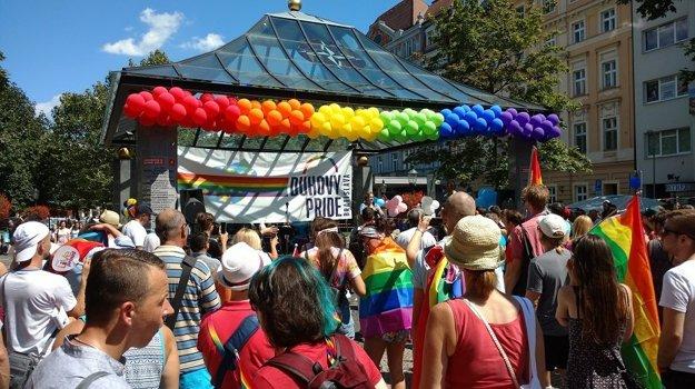 Príhovor ombudsmanky Jany Dubovcovej na Dúhovom Pride.