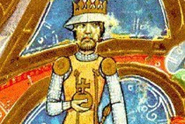 Uhorský kráľ Karol I. Róbert.