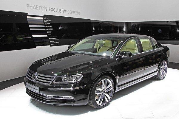 Phaeton Exclusive Concept predstaveý na autosalóne v Ženeve v roku 2013