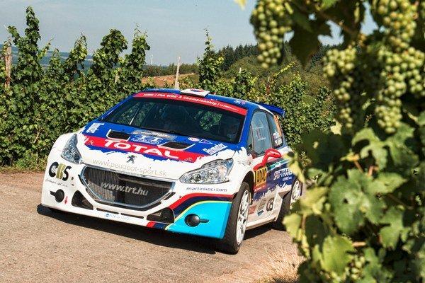 Martin Koči má v Nemecku asfaltovú premiéru s vozidlom Peugeot 208 T16.
