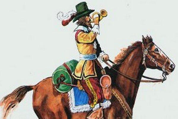 Jazdecký posol pochádza zo 17. storočia.