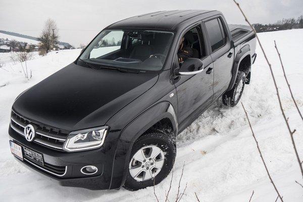 Na snehu a mimo cesty sme si jazdu a schopnosti auta skutočne užívali.