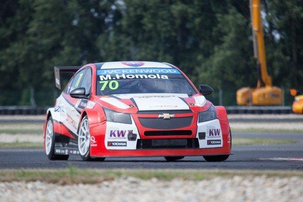 Chevrolet začal napokon fungovať a Homola sa autu zavďačil dobrým výkonom v kvalifikácii.