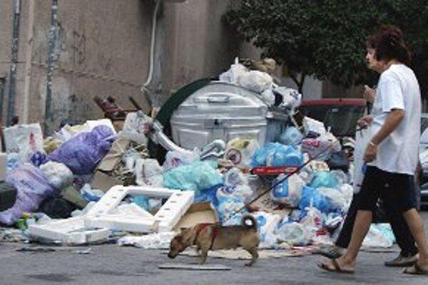 Vedenie mesta upozorňuje, že kopy odpadu v Prievidzi nehrozia.