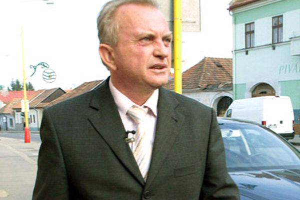 Primátor Bojníc František Tám.